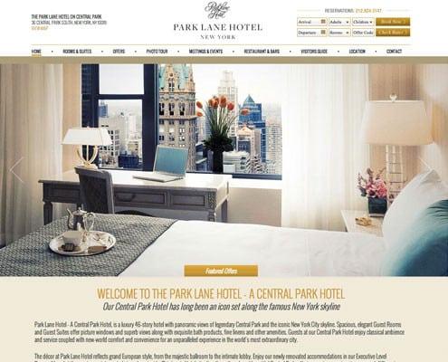 Hotel Website Design Hospitality Portfolio Bemo Design