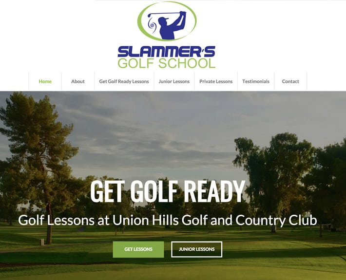 web designs scottsdale golf