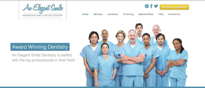 scottsdale dental website design
