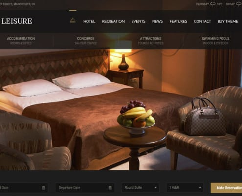 Hotel Website Design Company, Bemo Design