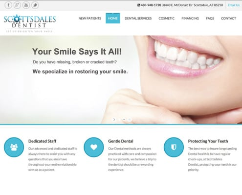 scottsdale website design | bemo design