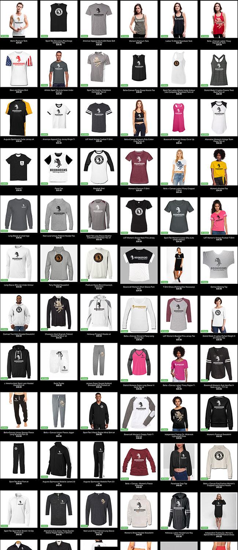 Free Online Store Merchandise 1